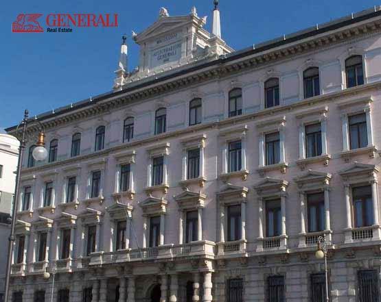 Impianto antincendio ad aerosol Greensafety  presso archivio e deposito cartaceo Generali Real Estate Torino