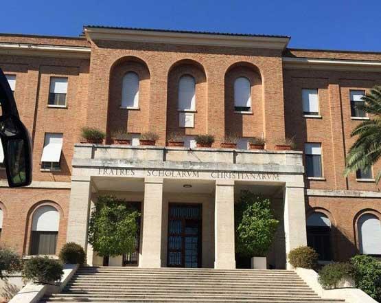 impianto antincendio ad aerosol greensafety presso biblioteca storica la salle casa generalizia roma